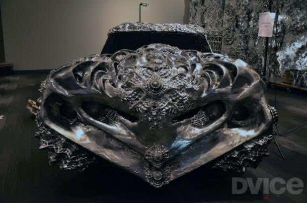 3D printed liquid metal Ford Turino 2