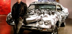 3D printed liquid metal Ford Turino