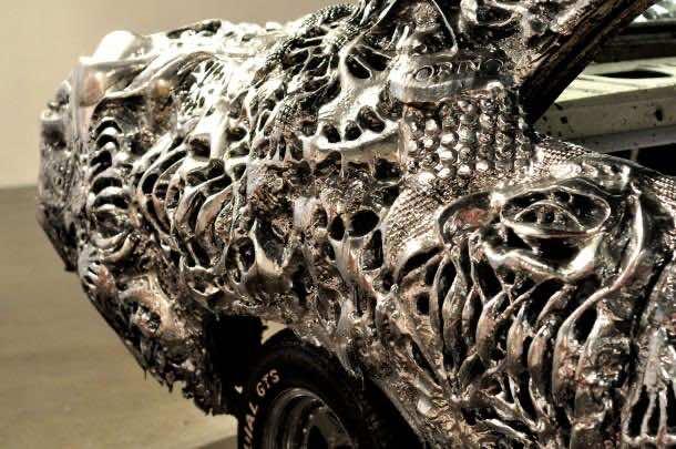 3D printed liquid metal Ford Turino 4