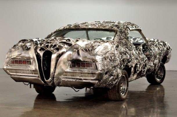3D printed liquid metal Ford Turino 5