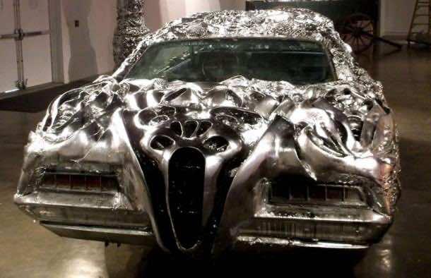 3D printed liquid metal Ford Turino 6