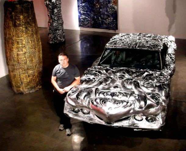 3D printed liquid metal Ford Turino 8