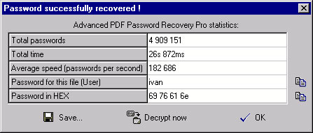 6. Pdf passwords