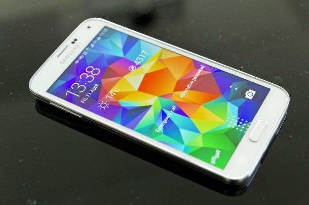 Galaxy S5 Fingerprint 2