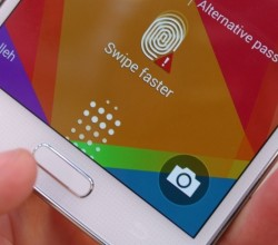 Galaxy S5 Fingerprint 3