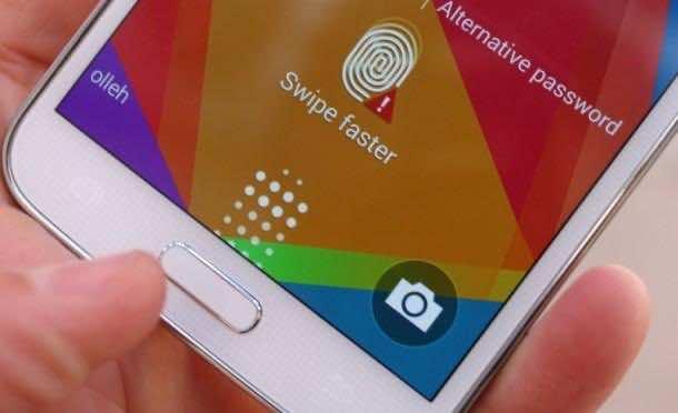 Galaxy S5 Fingerprint 3