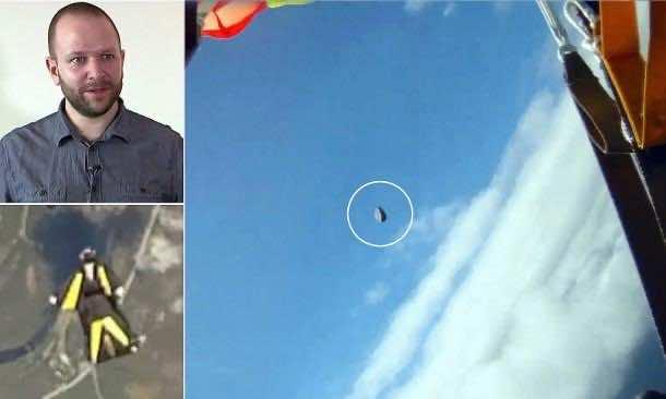 skydiver Meteor Banner 1