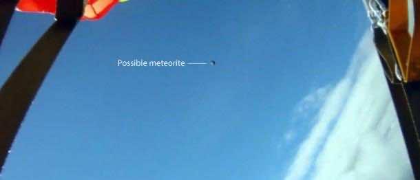 Meteorite in Dark Flight