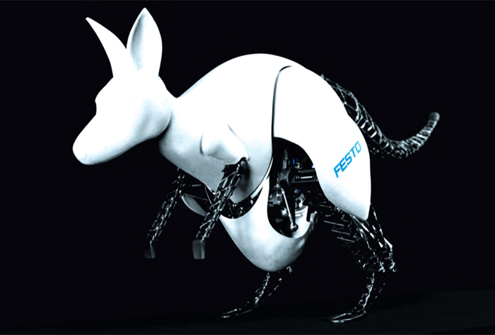 Festo Creates A Fully Automated Robotic Kangaroo