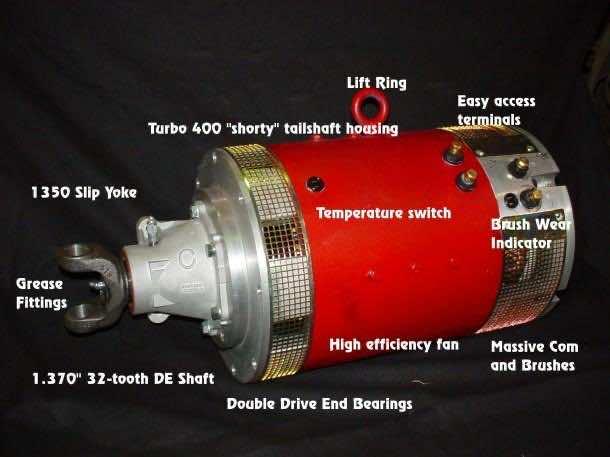 electric motor 18