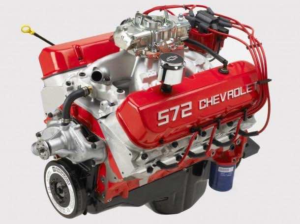 2003 Chevrolet 572ci/620 hp V8 Big Block Crate Engine