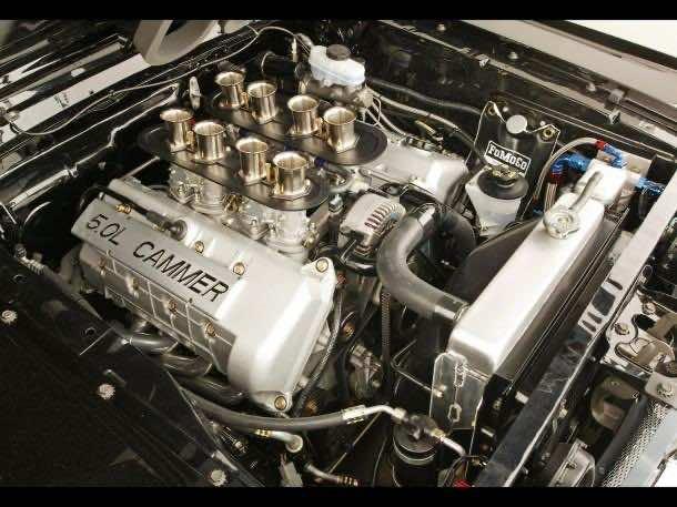 """5.0L DOHC """"Cammer"""" V8 Crate Engine"""