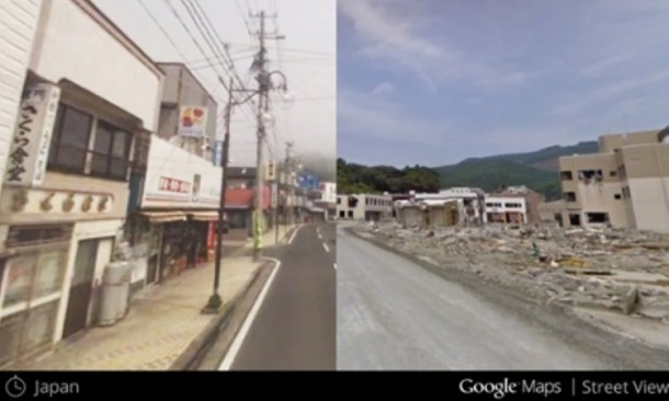 Google Maps-Time Travel