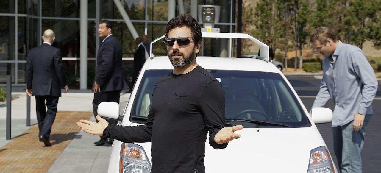 Edmund G. Brown Jr., Sergey Brin