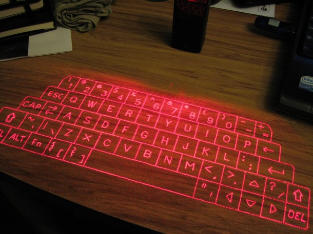 1. Laser Keyboards