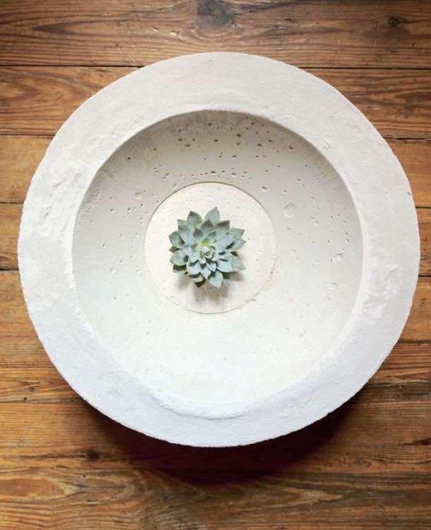 11. Cement bowls