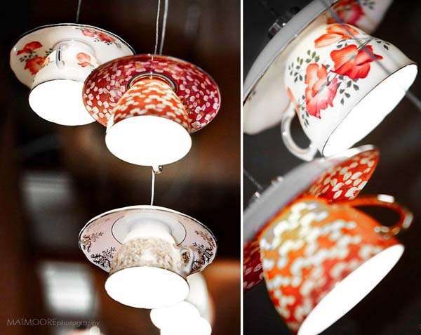 11. Teacup lights