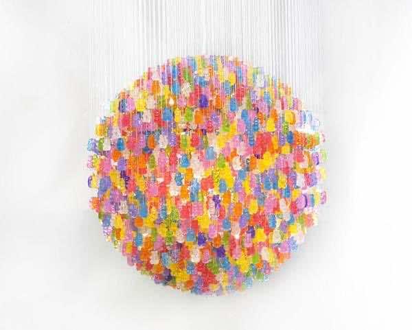 14. Gummy chandelier2