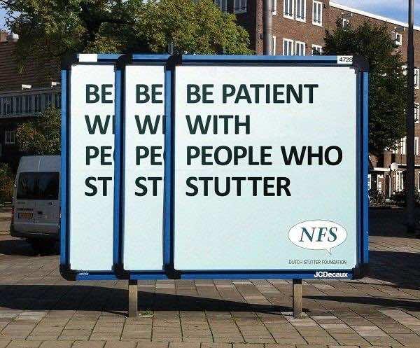 2. Be Patient