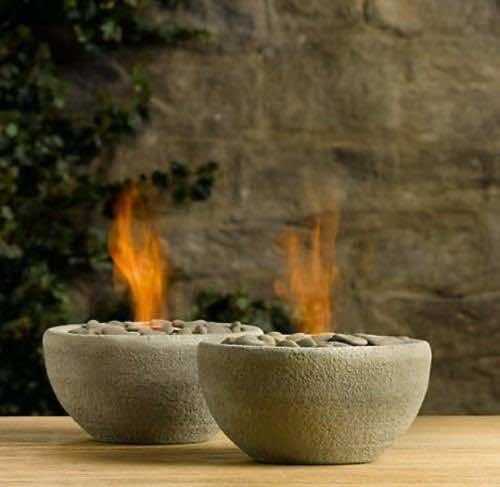 2. Concrete fire bowls