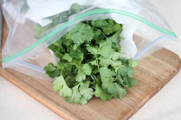 3. Delicate herbs