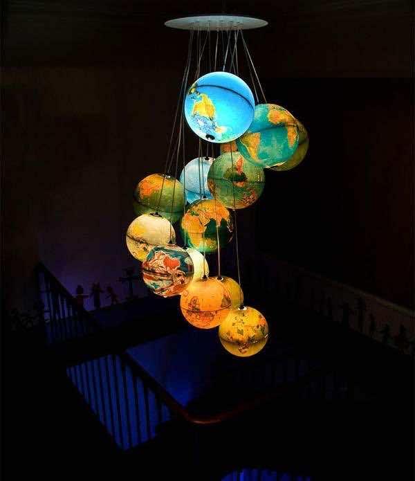 3. Globe lamps