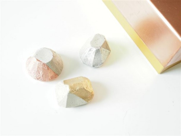 5. Geometric paper weights