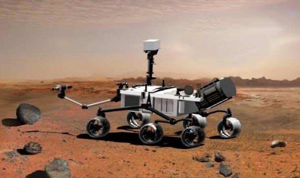 7. The Curiosity Rover Wheel Wear and Tear