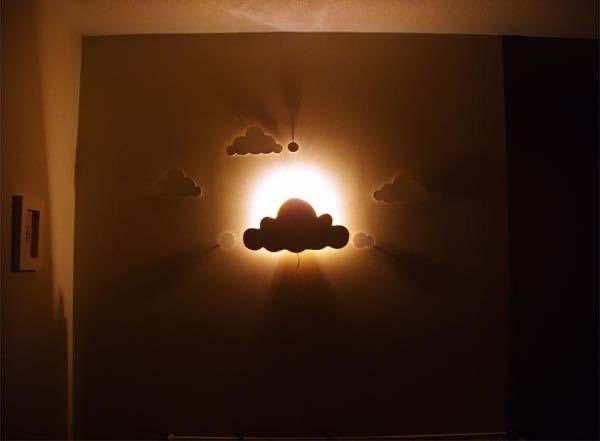 8. Cloud cutout lamp 2