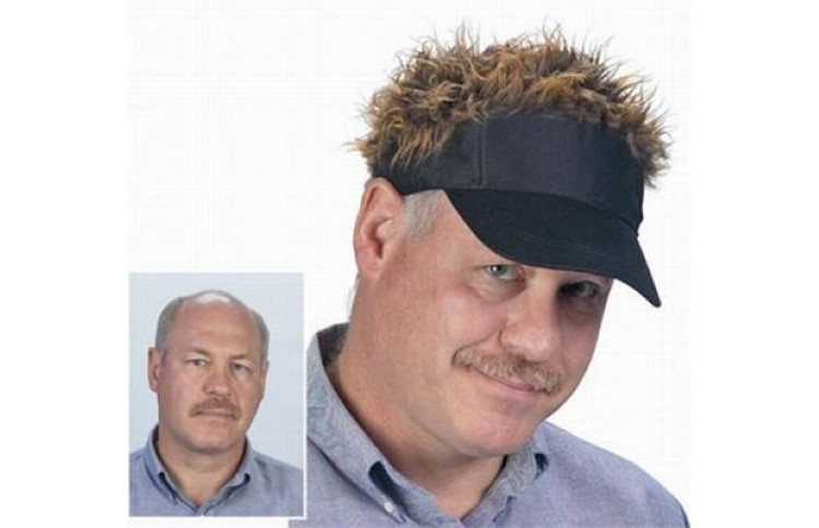 Flair Hair Golf, the Hair Hat