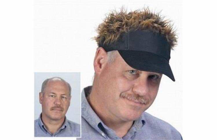 Flair Hair Golf, the Hair Hat