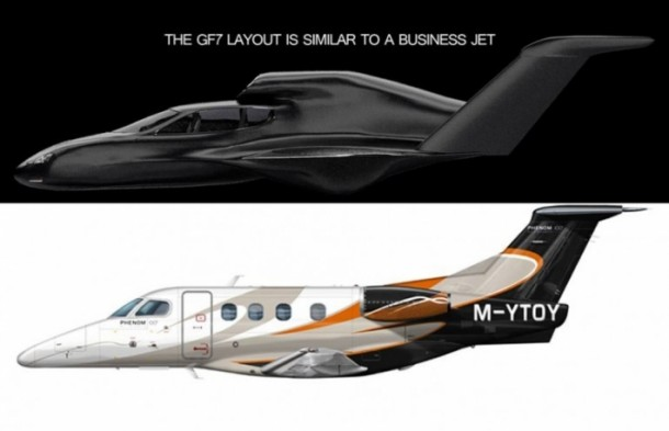 GF7 Flying Car Concept5