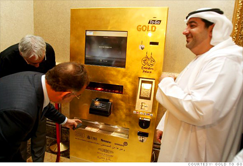Gold To Go Vending machine
