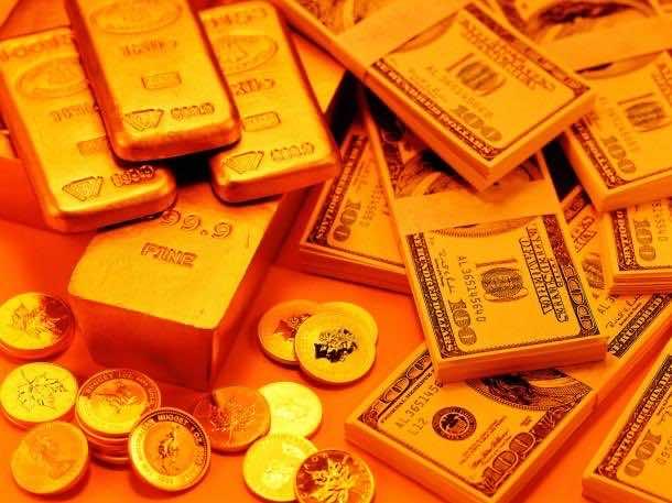 Gold wallpaper 19