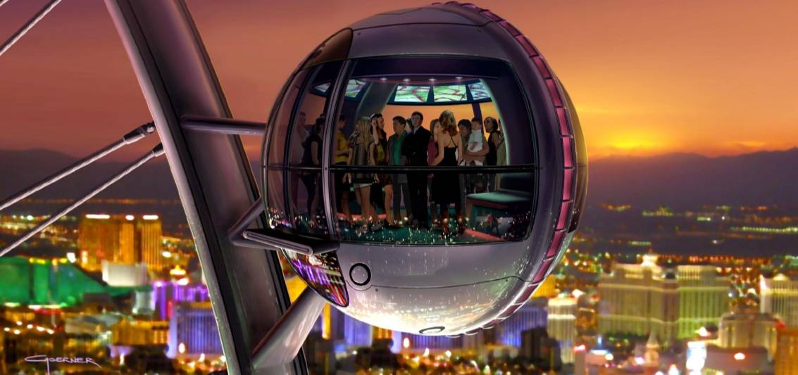 vegas high roller ferris wheel