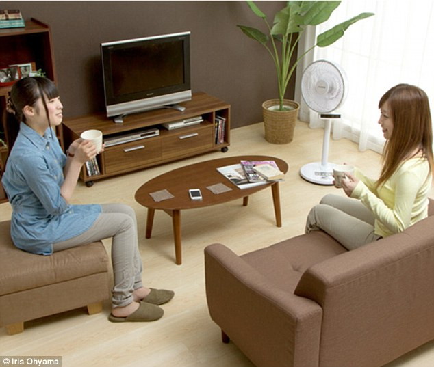smart fan smart fan blows air in your direction and shuts down when you