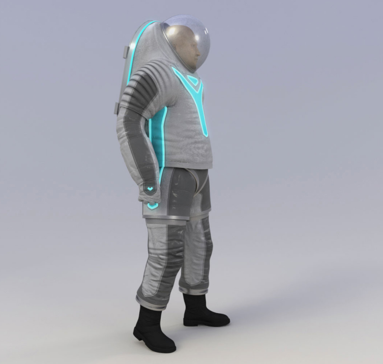 NASA's new space suit