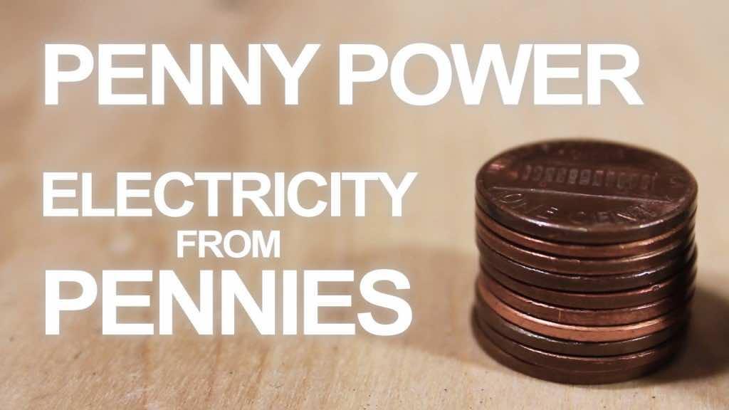 Penny Battery