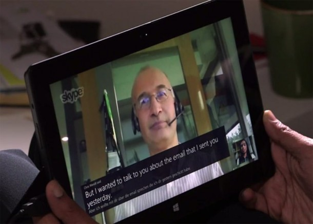 Skype Language Translator 4