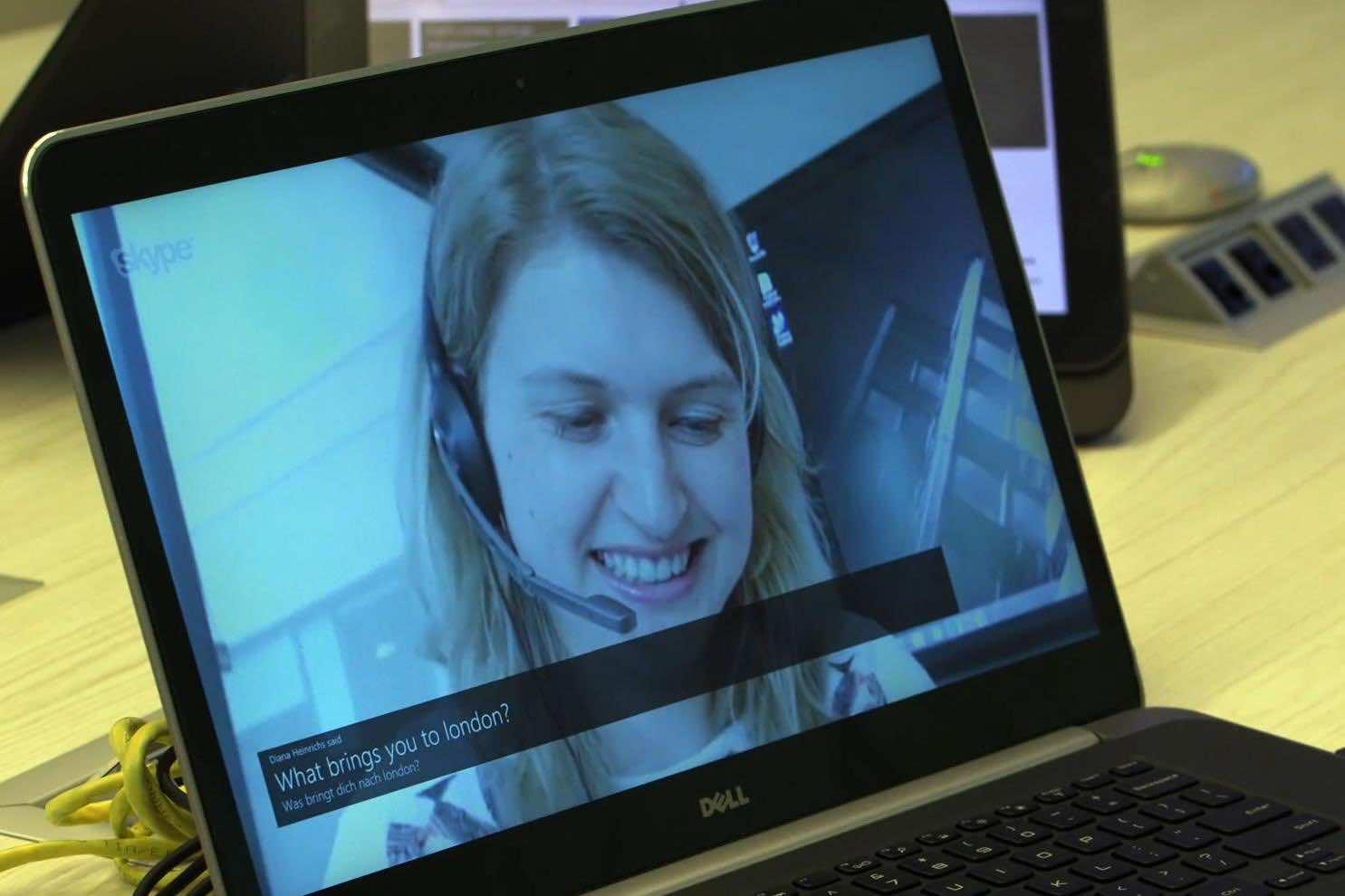 Skype Language Translator 6