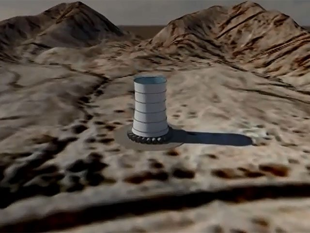 Solar Wind Energy Tower 3