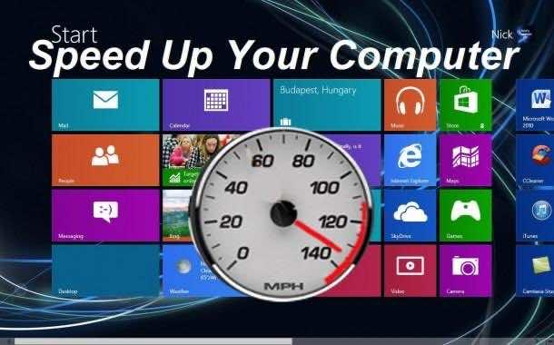 Speed up PC 3