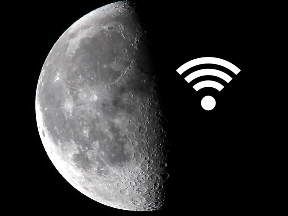 Moon Has Better Internet Than Your Home's Wi-Fi Now