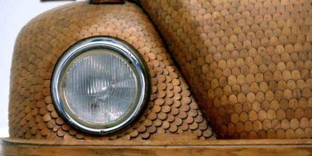 Wooden Dream Car which Runs