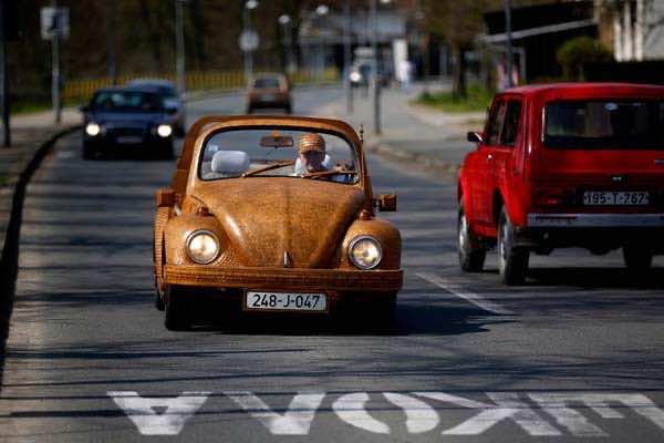 Wooden Dream Car which Runs10