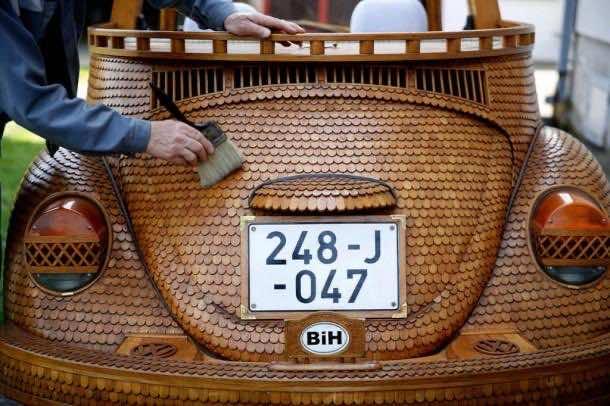Wooden Dream Car which Runs2