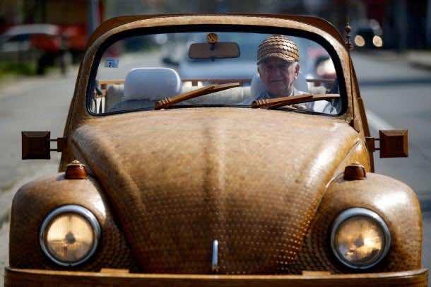 Wooden Dream Car which Runs6