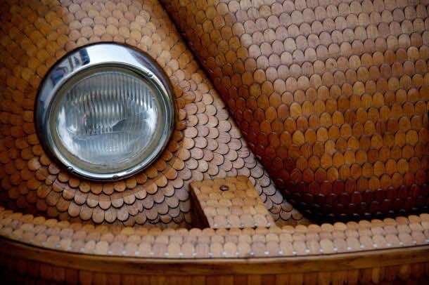 Wooden Dream Car which Runs8