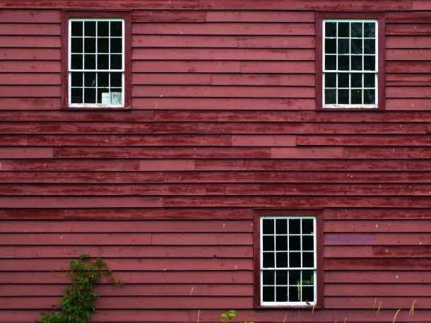 vintage barn wall