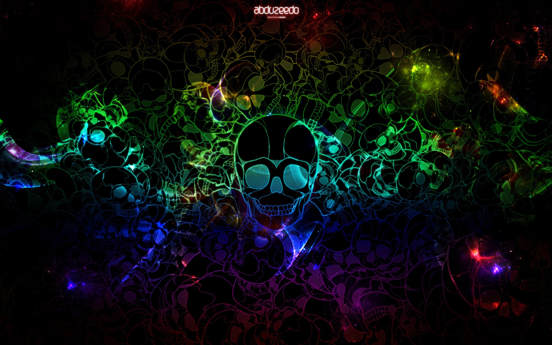 Images Of Flaming Skull Wallpaper Cool Neon